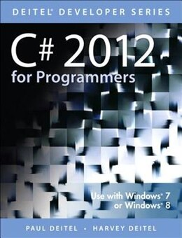 Book C# 2012 For Programmers by Paul Deitel
