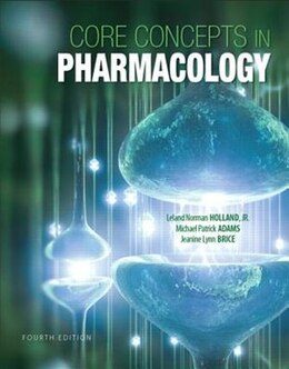 Book Core Concepts In Pharmacology by Norm Holland