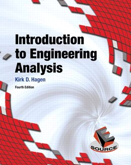 Book Introduction To Engineering Analysis by Kirk D. Hagen