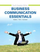 Business Communication Essentials, Fourth Canadian Edition
