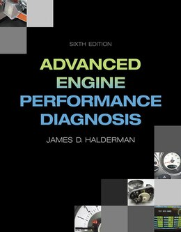 Book Advanced Engine Performance Diagnosis by James D. Halderman