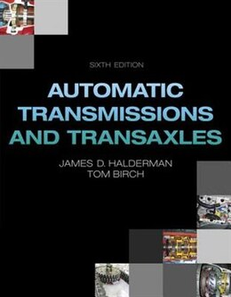 Book Automatic Transmissions And Transaxles by James D. Halderman