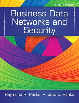 Book Business Data Networks And Security by Raymond R. Panko