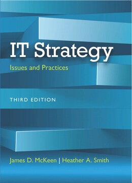 Book It Strategy: Issues And Practices by James D. McKeen