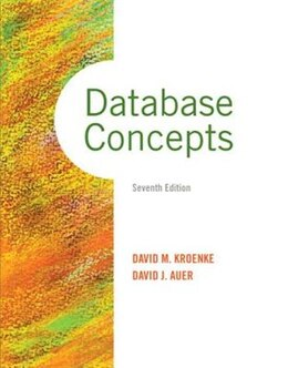 Book Database Concepts by David M. Kroenke