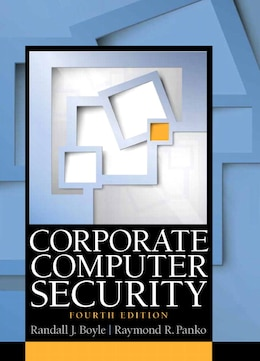 Book Corporate Computer Security by Randy J. Boyle
