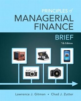 Book Principles Of Managerial Finance, Brief by Lawrence J. Gitman