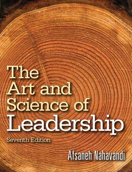 Book The Art And Science Of Leadership by Afsaneh Nahavandi