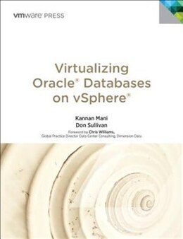 Book Virtualizing Oracle Databases On Vsphere by Kannan Mani