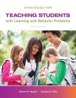 Book Strategies For Teaching Students With Learning And Behavior Problems, Enhanced Pearson Etext With… by Sharon R. Vaughn