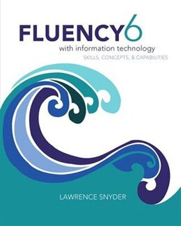 Book Fluency With Information Technology by Lawrence Snyder