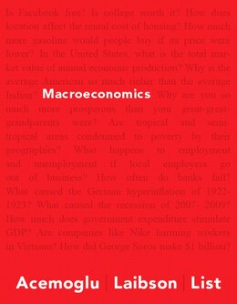 Book Macroeconomics Plus Myeconlab With Pearson Etext -- Access Card Package by Daron Acemoglu