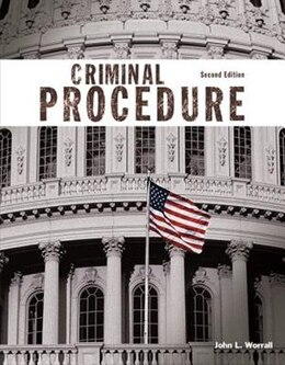 Book Criminal Procedure by John L. Worrall