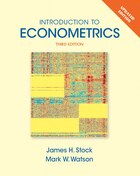 Introduction To Econometrics, Update Plus New Myeconlab With Pearson Etext -- Access Card Package