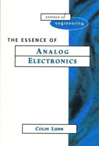 Book Essence Analog Electronics by Colin Lunn