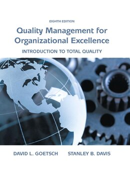 Book Quality Management For Organizational Excellence: Introduction To Total Quality by David L. Goetsch