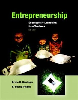 Book Entrepreneurship: Successfully Launching New Ventures by Bruce R. Barringer