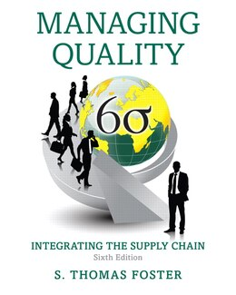 Book Managing Quality: Integrating The Supply Chain by S. Thomas Foster