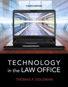 Book Technology In The Law Office by Thomas F. Goldman