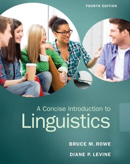Book A Concise Introduction To Linguistics by Bruce M. Rowe