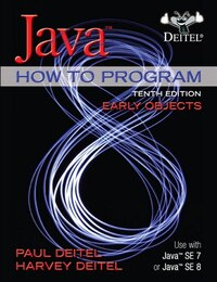 Java How To Program, Early Objects Plus Myprogramminglab With Pearson Etext -- Access Card Package