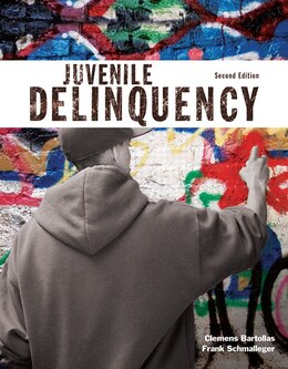 Book Juvenile Delinquency by Clemens Bartollas
