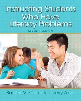 Book Instructing Students Who Have Literacy Problems, Enhanced Pearson Etext With Loose-leaf Version… by Sandra Mccormick