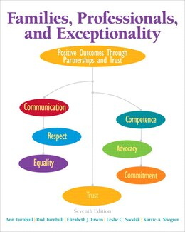 Book Families, Professionals, And Exceptionality: Positive Outcomes Through Partnerships And Trust… by Ann A. Turnbull