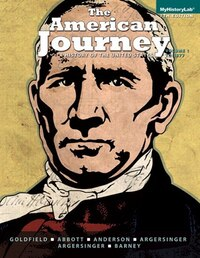 The America Journey: A History Of The United States, Volume 1, Black & White Plus New Myhistorylab…