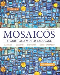 Mosaicos, Volume 1 With Myspanishlab With Pearson Etext -- Access Card Package ( One-semester…