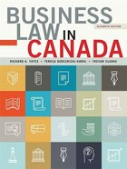 Business Law In Canada, Eleventh Canadian Edition