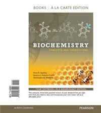Biochemistry: Concepts And Connections, Books A La Carte Edition