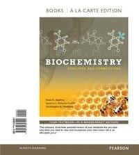 Biochemistry: Concepts And Connections, Books A La Carte Edition