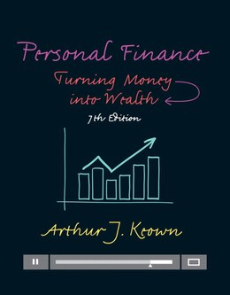 Book Personal Finance: Turning Money Into Wealth by Arthur J. Keown