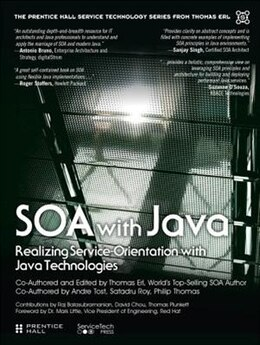 Book Soa With Java: Realizing Service-orientation With Java Technologies by Thomas Erl