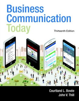 Book Business Communication Today by Courtland L. Bovee