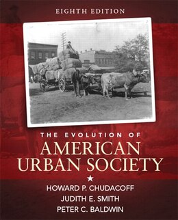 Book The Evolution Of American Urban Society by Howard P. Chudacoff