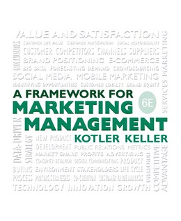 Book Framework For Marketing Management by Philip T. Kotler
