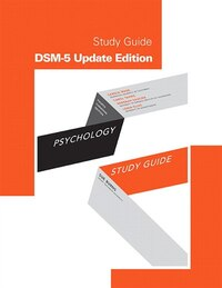 Study Guide For Psychology, Fourth Canadian Edition, Dsm-5 Update Edition