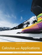 Calculus With Applications Plus Mymathlab With Pearson Etext -- Access Card Package