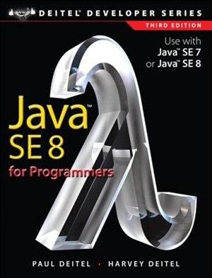 Java Se8 For Programmers by Paul J. Deitel
