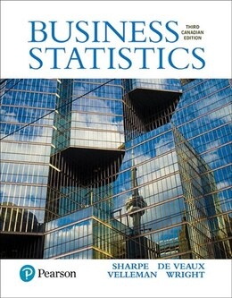 Book Business Statistics, Third Canadian Edition by Norean D. Sharpe
