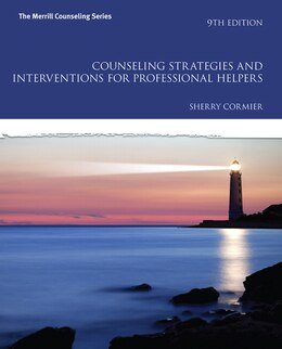 Book Counseling Strategies And Interventions For Professional Helpers by Sherry Cormier