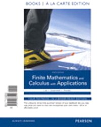 Finite Mathematics And Calculus With Applications Books A La Carte Plus Mymathlab Package
