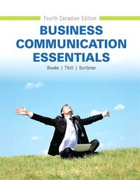 Business Communication Essentials, Fourth Canadian Edition Plus New Mybcommlab With Pearson Etext…