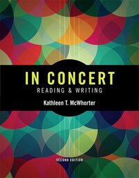 In Concert: An Integrated Approach To Reading And Writing