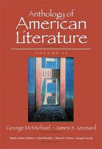 Anthology Of American Literature, Volume Ii Plus Myliteraturelab --access Card Package