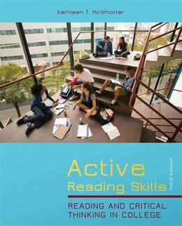 Book Active Reading Skills Plus Myreadinglab With Etext -- Access Card Package by Kathleen T. Mcwhorter