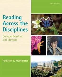 Book Reading Across The Disciplines: College Reading And Beyond Plus Myreadinglab With Etext -- Access… by Kathleen T. Mcwhorter