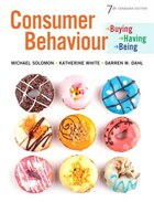 Consumer Behaviour: Buying, Having, And Being, Seventh Canadian Edition